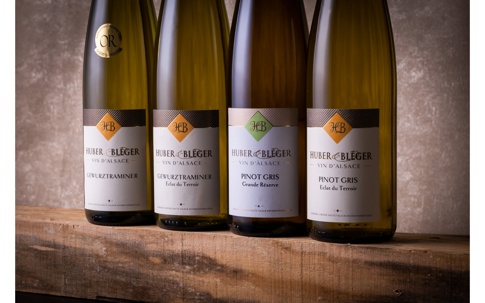 Huber & Bléger - Nos vins d'Alsace puissants et fruités à Saint-Hippolyte près de Colmar